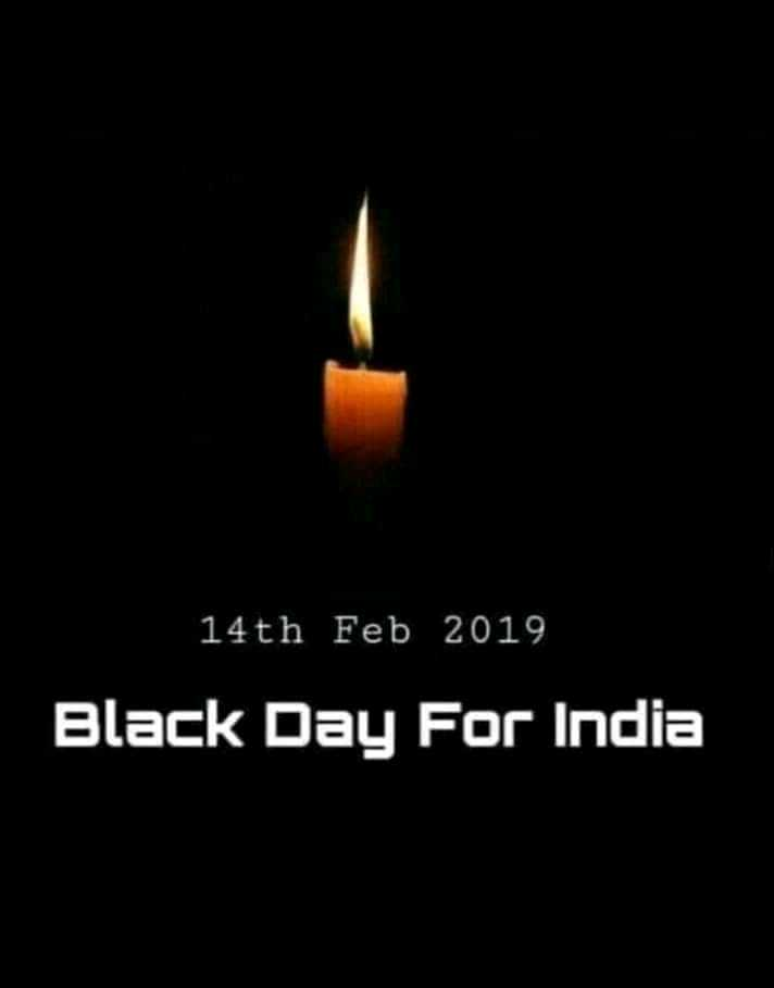 black day - 14th Feb 2019 Black Day For India - ShareChat