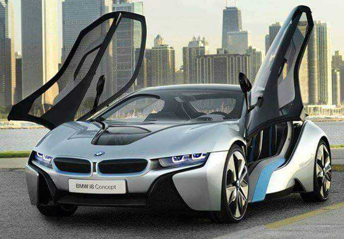 butefull car - BMW i8 Concept - ShareChat