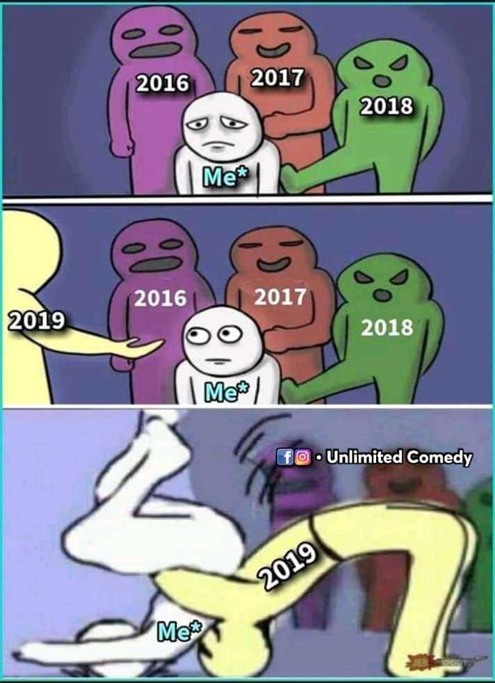 reality - 2016 2017 2018 Me * 2016 2017 2019 2018 Me fo . Unlimited Comedy 2019 Me - ShareChat