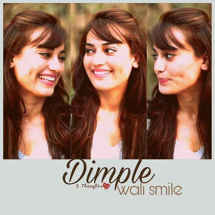 Behir - Dimplesmile s Thoughts Wali smile - ShareChat