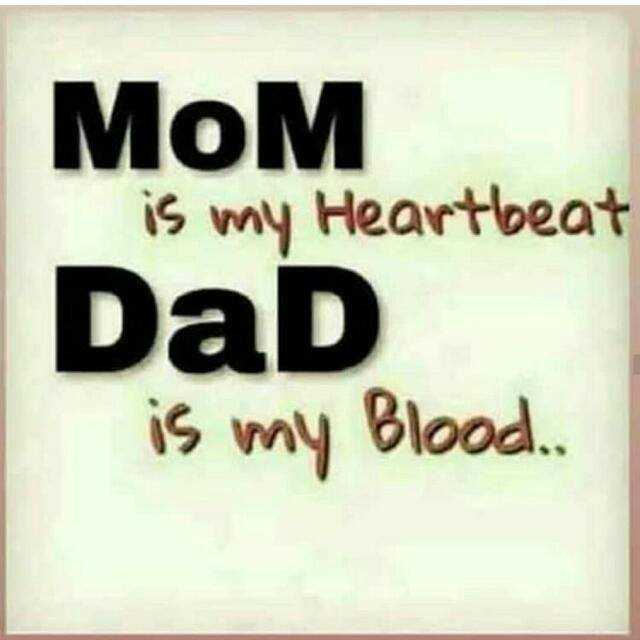 i miss u😢😢 - Мом is my Heartbeat DaD is my Blood . - ShareChat