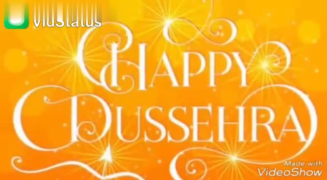 हैप्पी दशहरा - Download from DDY Made with VideoShow Download from May the festival of DUSSEHRA light up your l ' fi VideoShow - ShareChat