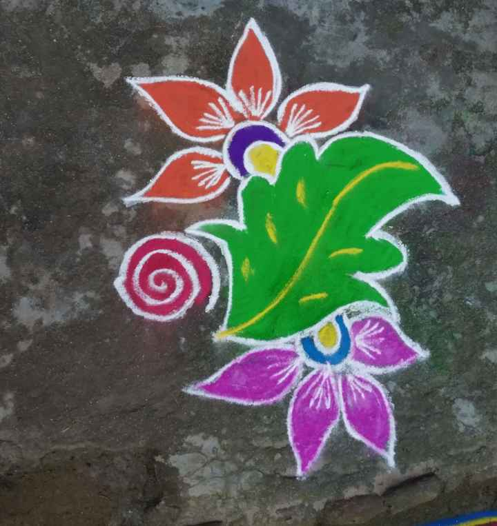 rangoli art - ShareChat