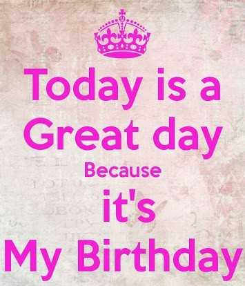 mare bare - Today is a Great day Because it ' s My Birthday - ShareChat