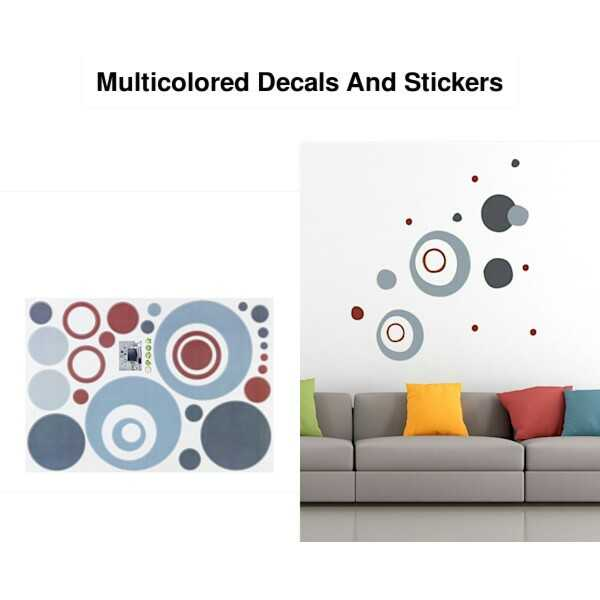 नाइस होम, डेकोरेशन - Multicolored Decals And Stickers - ShareChat