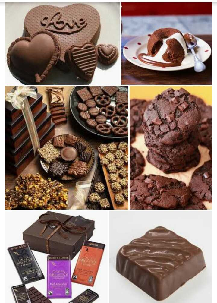 chocolate lovers♥ - BURNT TUTTE - ShareChat