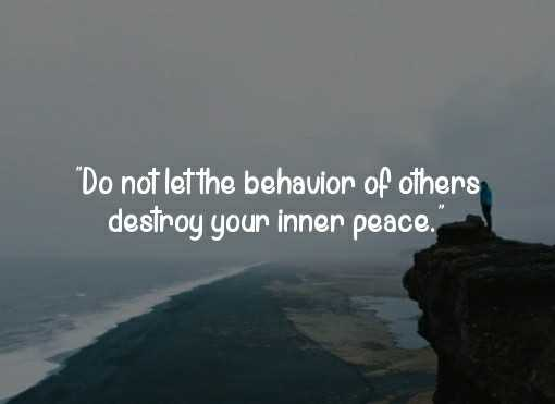 it's me😎 - Do not let the behavior of others destroy your inner peace , - ShareChat
