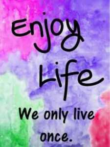 வாழ்க்கை 🌿🌿🌿 - Enjoy Life We only live оисе . - ShareChat