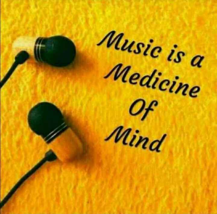 music lovers - Music is a Medicine Of Mind - ShareChat