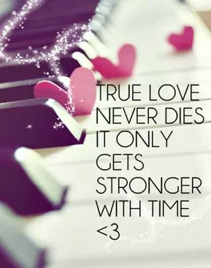 facts - TRUE LOVE NEVER DIES IT ONLY GETS STRONGER WITH TIME < 3 - ShareChat