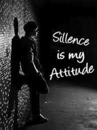 Its my feelings - Sillence is my Attitude - ShareChat