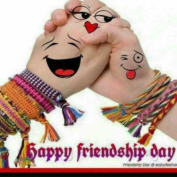 friendship day full screen status - py friendship day Friendship Day @enjoyfestva - ShareChat