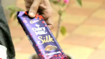 🍫happy chocolate day 🍫 - Maini Chauhan / akash pathak Maniche Cartu , Dairy Milk Silk / akash pathak - ShareChat
