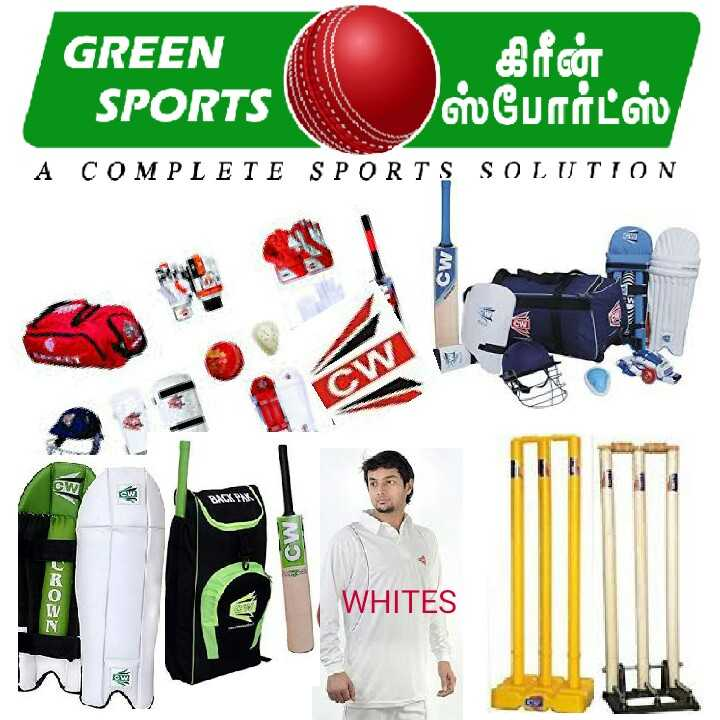National sports day - GREEN SPORTS   கிரீன் ஸ்போர்ட்ஸ் , A COMPLETE SPORTS SOLUTION Cw SAT 28022 WHITES  - ShareChat