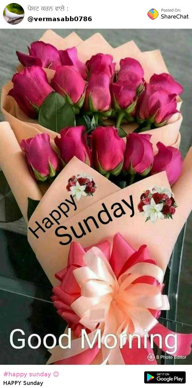 Happy Sunday Images Verma Sabb Sharechat Funny Romantic