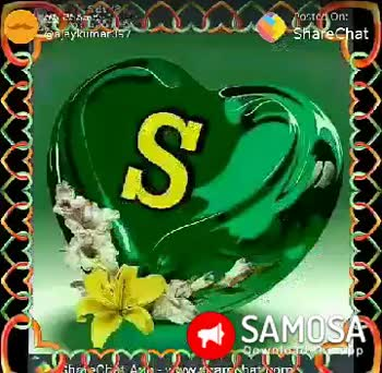💟Love You S💟 - SANTE gey ost On : ShareChat Love you Dean C SAMOSA S ex Postca on : Share Chat Evkumar SAMO Madipp - ShareChat