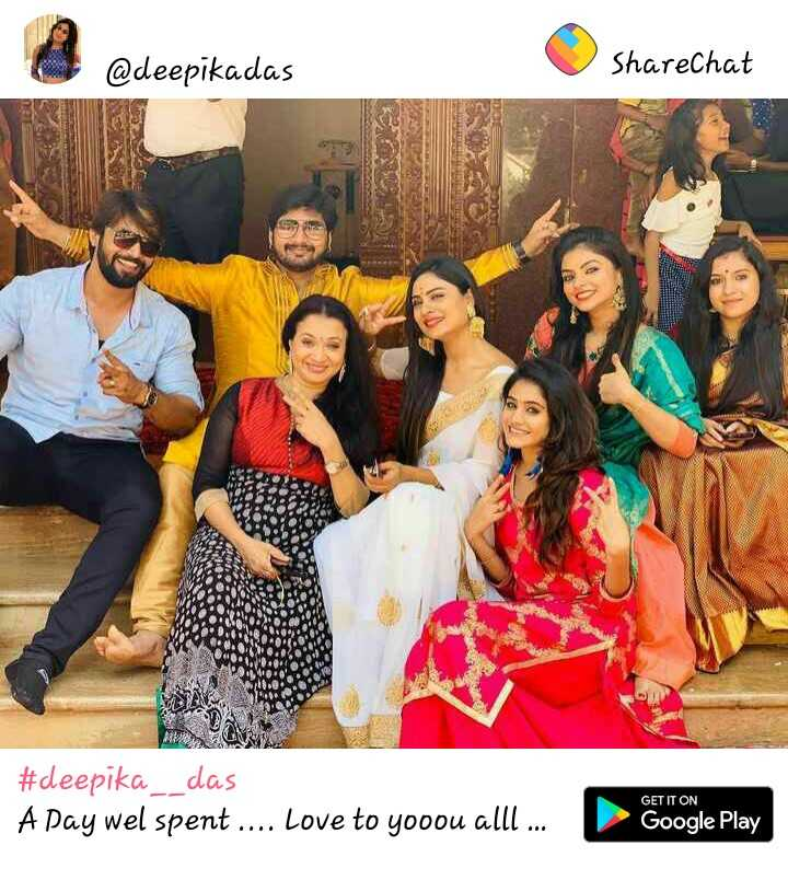 deepika das - @ deepikadas ShareChat # deepika _ _ das A Day wel spent . . . Love to yooou alll . . . Google Play - ShareChat