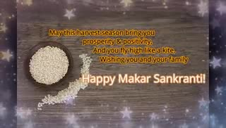📹💲✍️sandy video status - Hope the festival of Makar Sankranti 2019 brings lots of happiness , bliss , and good times in your life . Happy Makar Sankranti ! ! ! ! - ShareChat