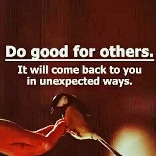 CET Notes - Do good for others . It will come back to you in unexpected ways . - ShareChat