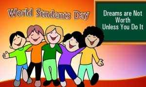 जागतिक विद्यार्थी दिन - World Students Day Dreams are Not Worth Unless You Do It - ShareChat