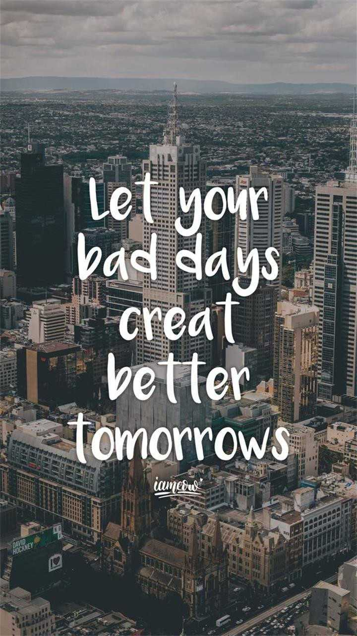 mind thought - Let your 1 bad days creat better tomorrows iamedul HOCKNEY - ShareChat