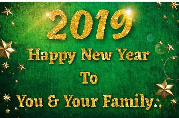 🎉Live न्यू इअर सेलिब्रेशन - 2019 Happy New Year To You & Your Family : - ShareChat
