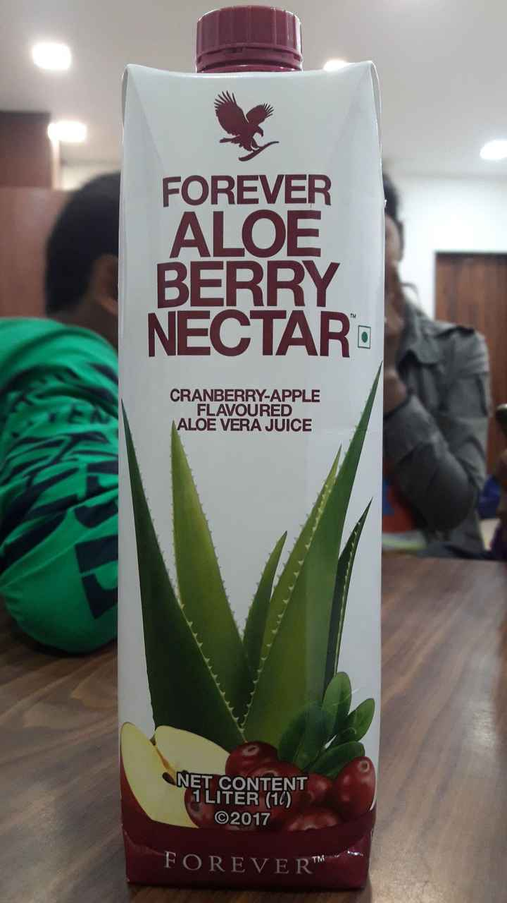 न्यूट्रीशन - FOREVER ALOE BERRY NECTAR CRANBERRY - APPLE FLAVOURED ALOE VERA JUICE NET CONTENT 1 LITER ( 10 ) ©2017 ' FOREVER - ShareChat