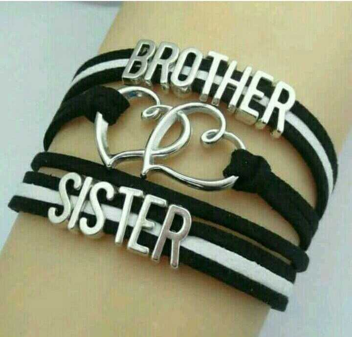 brother and sister - BROTHER SISTER - ShareChat