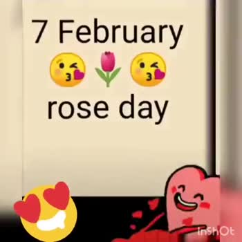 🗓 ਵੈਲੇਨਟਾਈਨ ਟਾਈਮਟੇਬਲ - 10 February teddy day Inshot 14 February valentine day Inshot - ShareChat