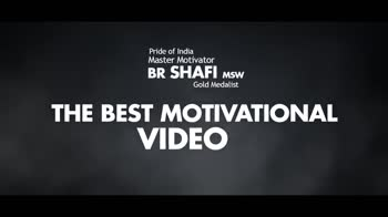 dr shafi: motivational videos - if you eat full when your neighbor is suffering from hunger , we can achieve unity and can make our country India a great , - ShareChat