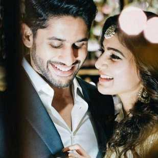 nagachitanya and samantha 1st anniversary - ShareChat