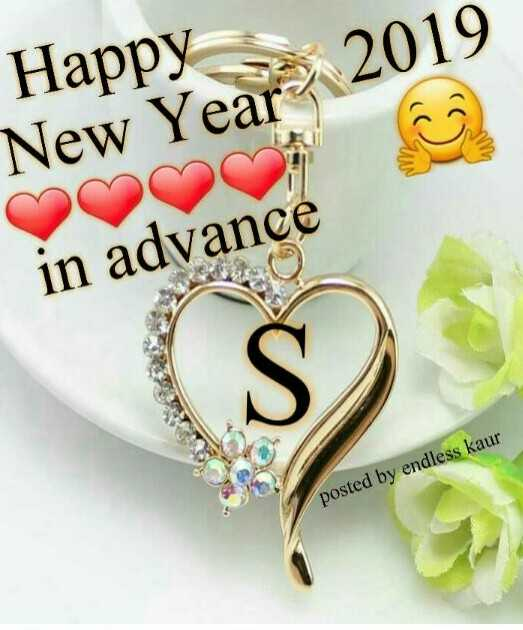 अपना गीत - 2019 Happy New Year 2019 in advance posted by endless kaur - ShareChat