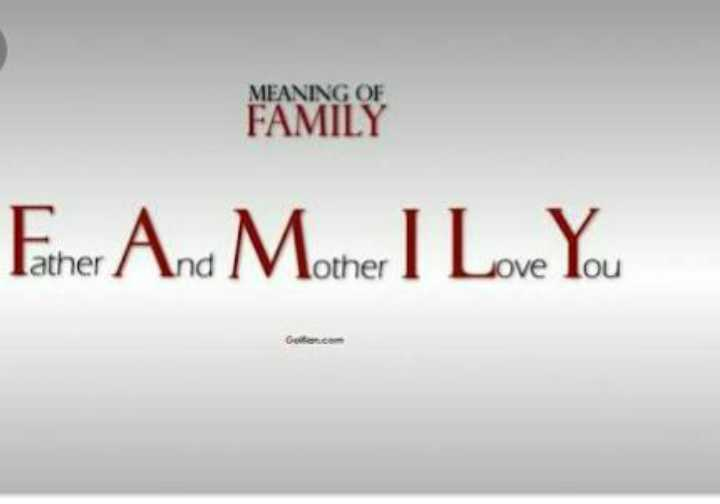 family pic - FAMILY Feher And M other I Love You - ShareChat