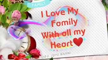 family love - My Family is my Please Like , Share & Subscribe Ange Jyoti Sharma Family I Love My Family Forever And Ever . WE With VivaVideo - ShareChat