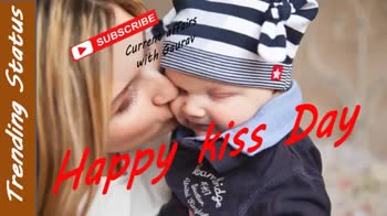 happy kiss day - SUBSCRIBE Current affairs with Gaurav Trending Status Two people is somea - ing Writes Com 2 . 96 SUBSCRIBE Current affairs with Gaurav kiss Trending Status Tugbam Kisses - ShareChat