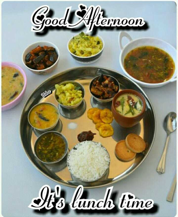 good afternoon friends - Goodštemoon Usha It ' s lunch time - ShareChat