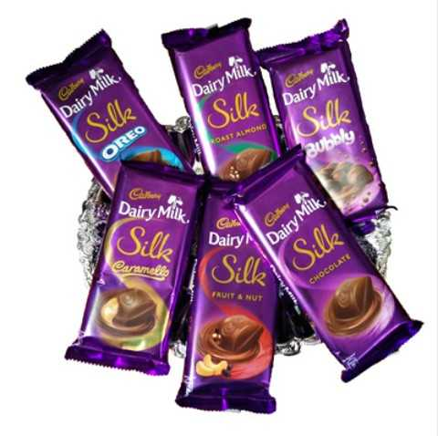 happy chocolate day - Dairy Milk , Dairy Milk Dairy Milk Silk Silk OAST ALMON Silk ROAST ALHOND OREO Bubbly Dairy Milk Dairy Milk DairyN Silk ame CHOCOLATE FRUIT & NUT - ShareChat