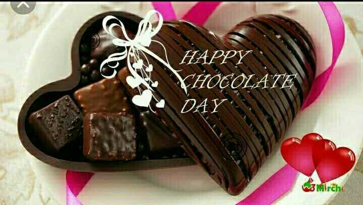 🍫happy chocolate day 🍫 - HAPPY VHOCOLATE DAY w3 Mirchi - ShareChat