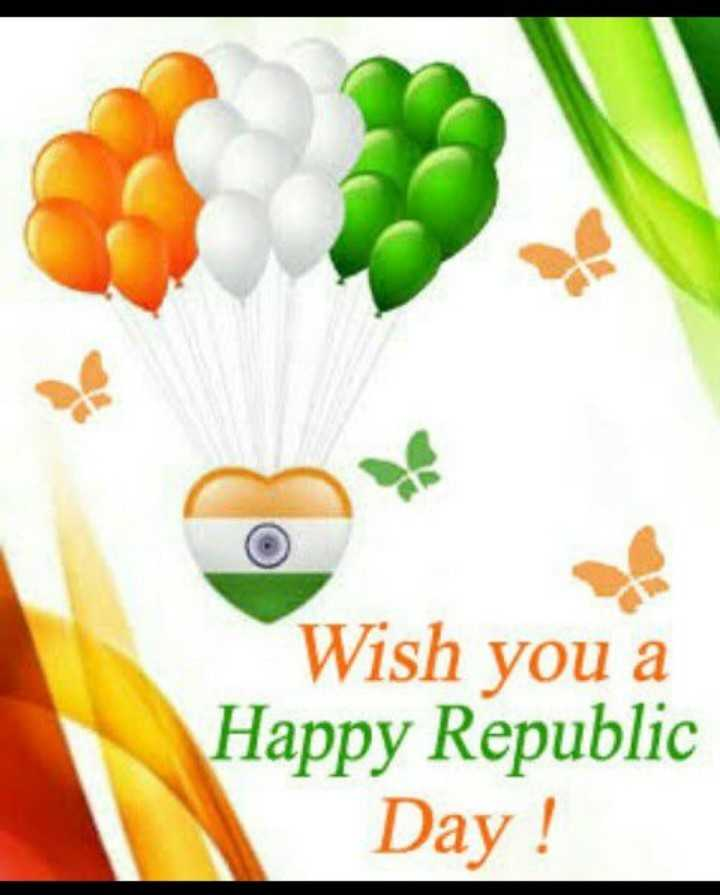 happy indepdence day - Wish you a Happy Republic Day ! - ShareChat