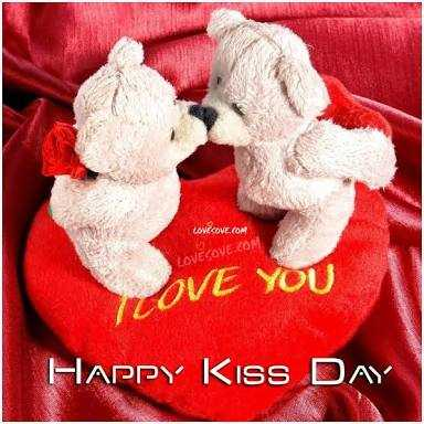 happy kiss day - LOVECOVE . COM LOVECOVE . COM OVE YOU Happy Kiss DAY - ShareChat