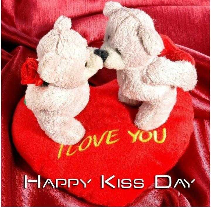 happy kiss day - OVE YOU HAPPY KISS DAY - ShareChat