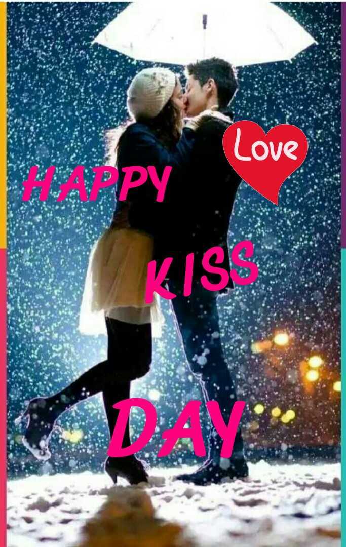 happy kiss day - Love PY KIS - ShareChat