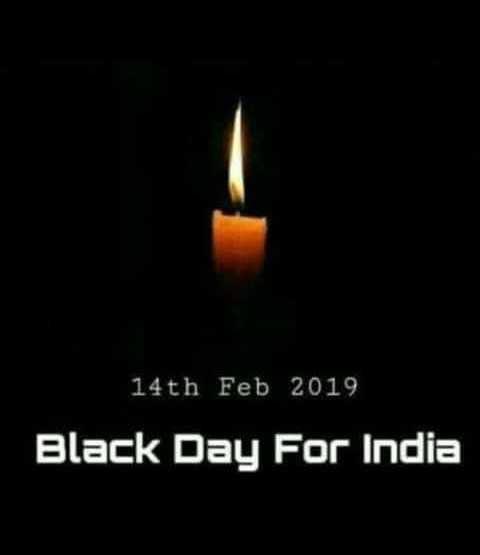 happy new year wishes 2019 - 14th Feb 2019 Black Day For India - ShareChat