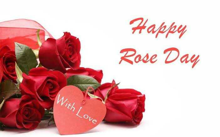 🌷🌷happy rose day 🌷🌷 - Happer Rose Day R With Love - ShareChat