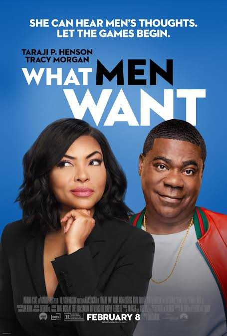 hollywood - SHE CAN HEAR MEN ' S THOUGHTS . LET THE GAMES BEGIN . TARAJI P . HENSON TRACY MORGAN WHAT MEN WANT DR FEBRUARY 8 - ShareChat