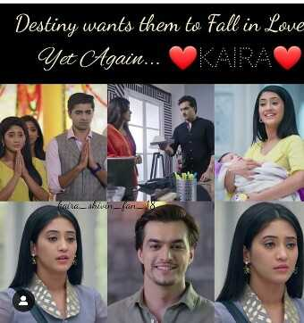 kartik & naira - Destiny wants them to Fall in Love Yet Again . . . KARA antakiu - fan - 118 - ShareChat