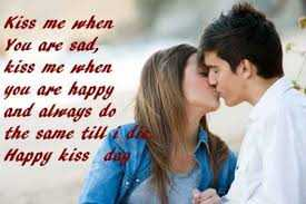 kiss 💋 kiss kiss kiss 💋 kiss kiss kiss 💋💋 - Kiss me when You are sad , kiss me when you are happy and always do the same till Happy kiss day - ShareChat