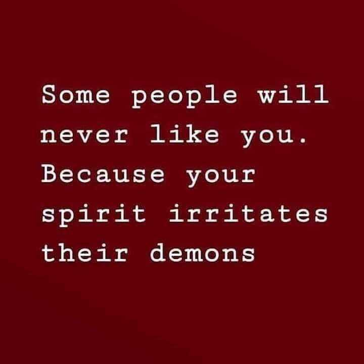 life style - Some people will never like you . Because your spirit irritates their demons - ShareChat