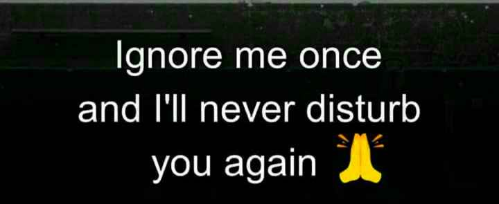 mery dairy - Ignore me once and I ' ll never disturb you again - ShareChat