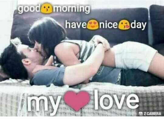 my love 💝👇 - good morning have nice day w my love Z CAMERA - ShareChat